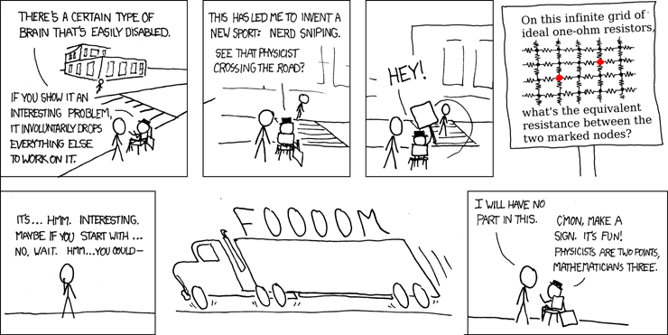 There's always a relevant XKCD.